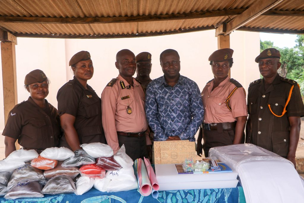 MORE INMATES TO BENEFIT FROM CRIME CHECK FOUNDATION's LIVELIHOOD SUPPORT INITIATIVES AT JAMES CAMP PRISON.