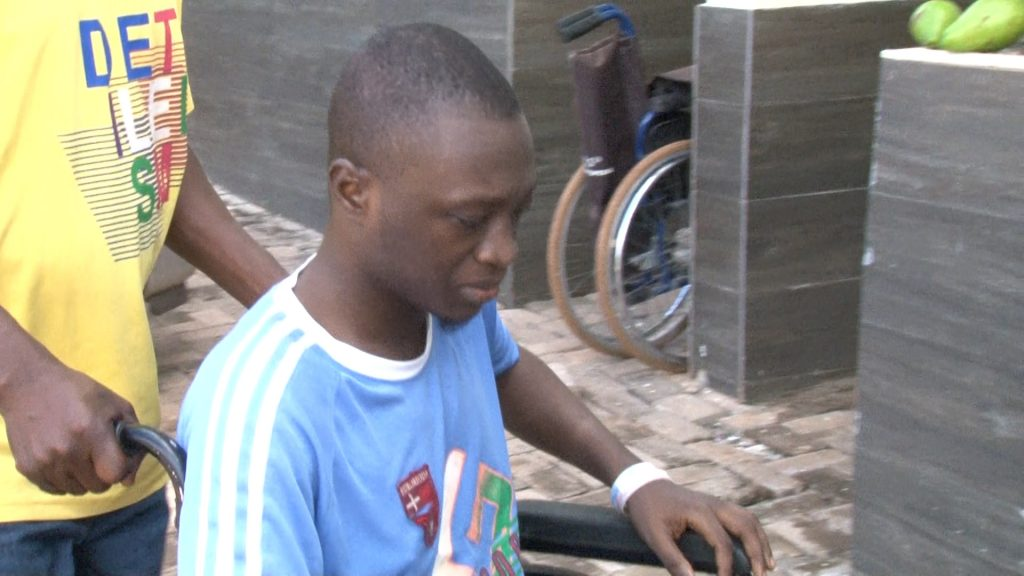 Stephen Bonney, a 22-year-old student awaiting his examination results needs financial support for medical attention at the Komfo Anokye Teaching Hospital (KATH).