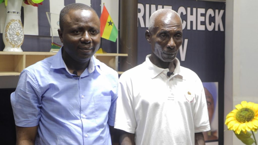 Eastern Regional Secretary of the New Patriotic Party, Mr. Jeff Konadu Addo has helped pay the fine of 68year old Charles Boamah Domfeh an inmate at the Awutu Camp Prison.