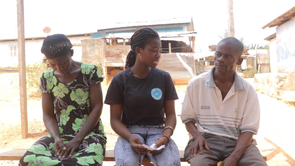 Crime Check Foundation CCF has shown kind gesture to the Abadu family after the demise of their 13year old son Kwadwo Abadu.