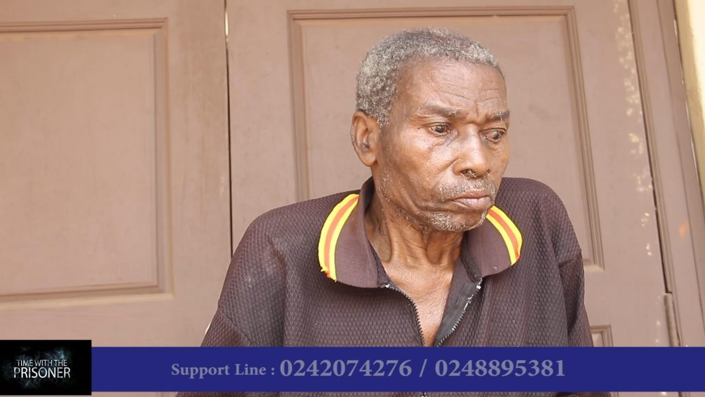 As part of Crime Check Foundation CCF's Health Check Project, 77year old diabetic patient, Humphrey Dagadu receives proper medical care.