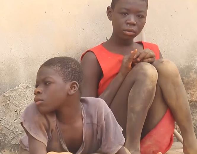 THE TWO DISABLED CHILDREN OF ABRAHAM AND AFIA BRAGO