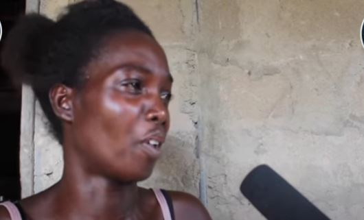 Voine is in pains as her husband slept with her just a week after she had given birth and left her.