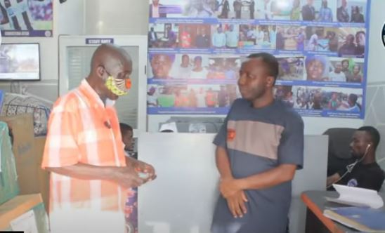 CCF supports 63 year old ex-convict, Osei Boateng to re-integrate into society
