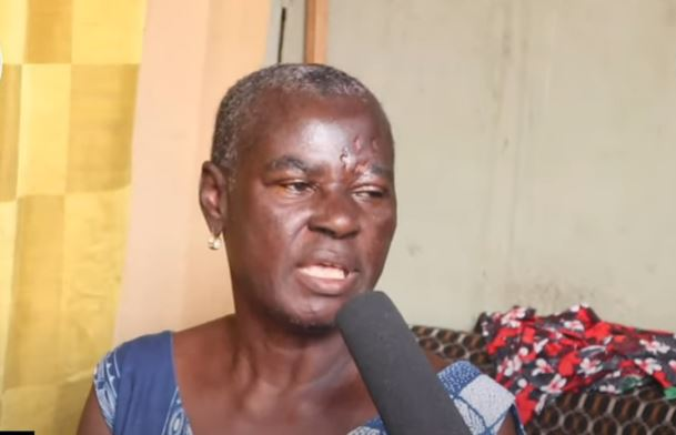 OLD WOMAN CRIES FOR HELP TO SAVE HER BREAST