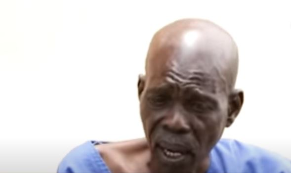 73 year old Francis Mensah Shenu said regardless of his age he had to abide by the rules governing inmates including demeaning duties.