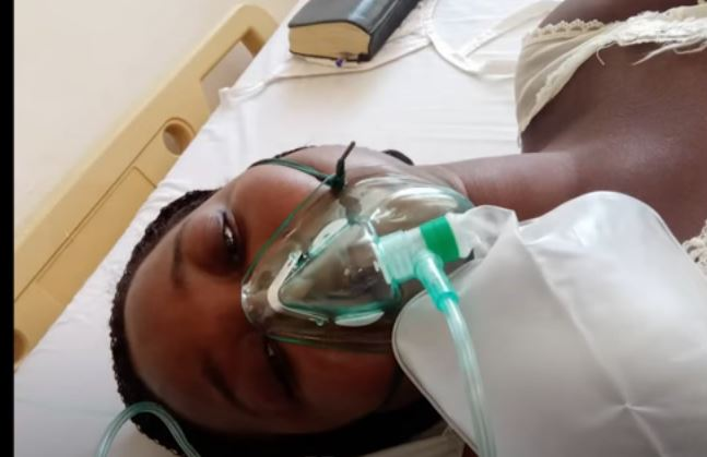 TAKE OFF THE OXYGEN FOR ME TO DIE – WOMAN BEGS DOCTOR