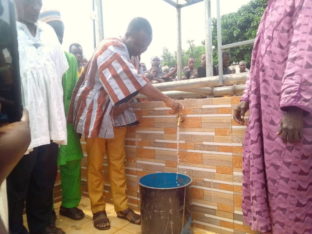 CCF PROVIDES CLEAN WATER FOR WOFUGUMANI RESIDENTS
