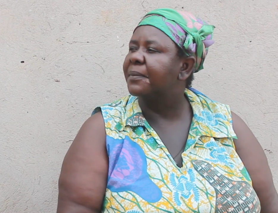 Life has become difficult for Yaa Dokua because she cannot do her business any longer.