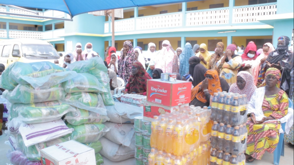 CCF donates to Muslims