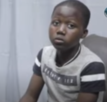 12-yr-old Ghanaian who wants to become world's best actor